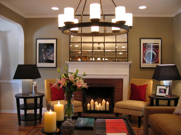 Modern furniture traditional living room decorating ideas 2012 - Living room contemporary fireplace design ...