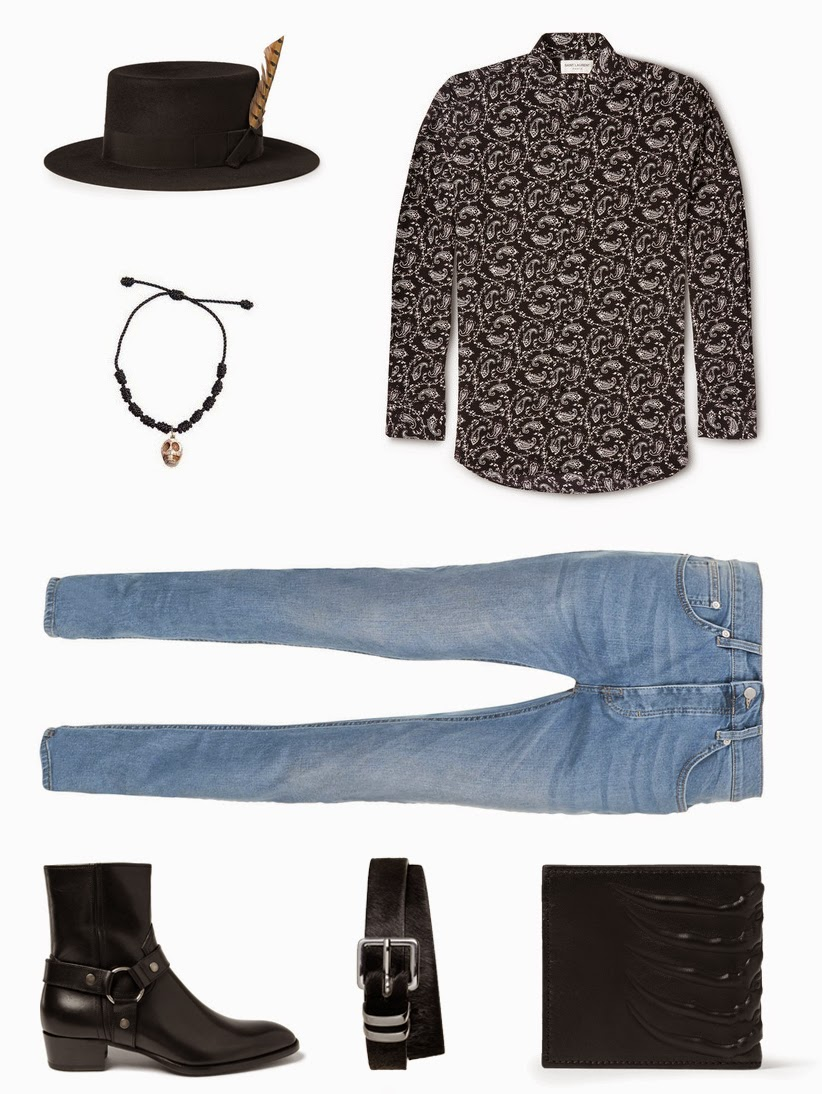Saint Laurent, Rock Style, Harry Styles outfit, Jared Leto outfit