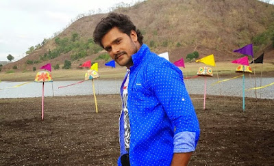 Khesari Lal Yadav Romance with Sweety Chhabra in  'Hogi Pyaar Ki Jeet'