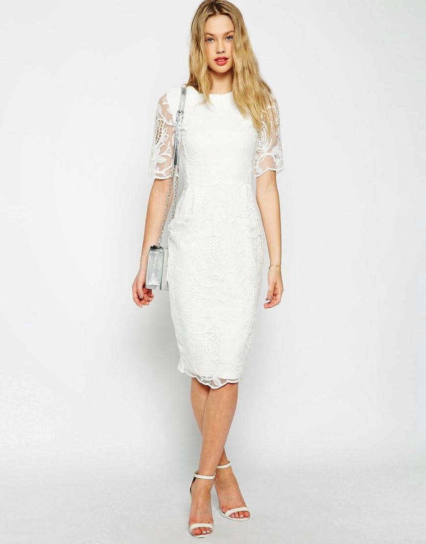 white wiggle dress, white lace wiggle dress,