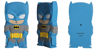 San Diego Comic-Con 2013 Exclusive Chara-Brick Vinyl Figures by Huckleberry - Batman (Blue)