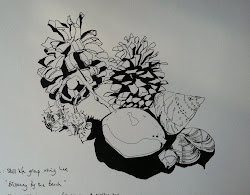 Still life group using line