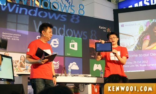 windows 8 demo