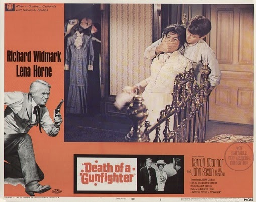 death of a gunfighter allen smithee poster richard widmark lena horne
