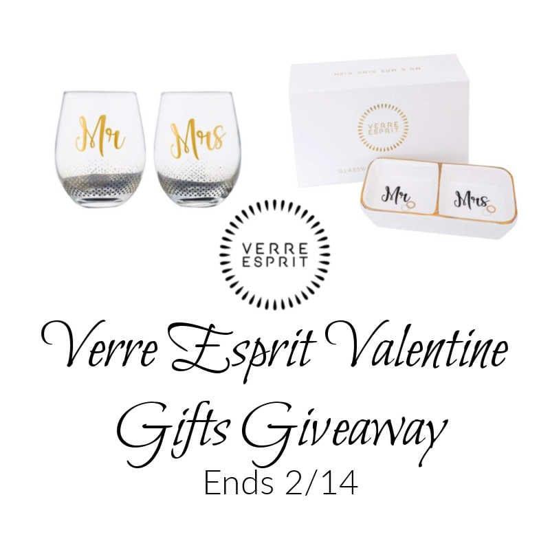 Verre Esprit Valentine's Day Giveaway