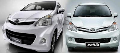 Toyota Avanza vs Daihatsu Xenia