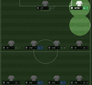 FM14 Player Role Wide Target Man