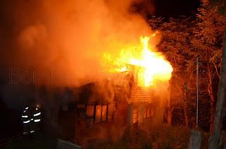 Incendio en Barrio Kaiken