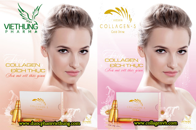Collagen Vieskin S - Tinh chất Collagen