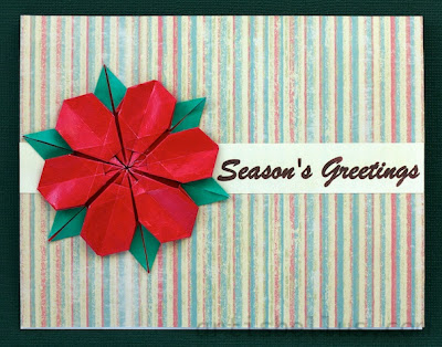 Origami Holiday Cards