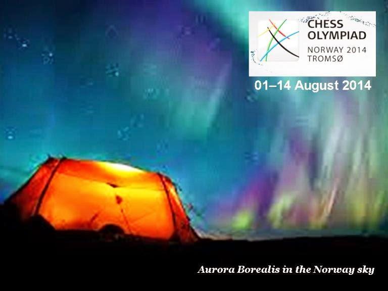 Foto dari Olimpiade Catur ke 41/2014 di Tromso Norwegia