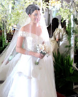 Julia Montes (Katerina) wore a wedding gown for the second time