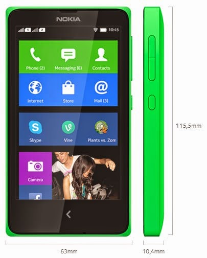 Nokia X HP Android Jelly Bean Murah