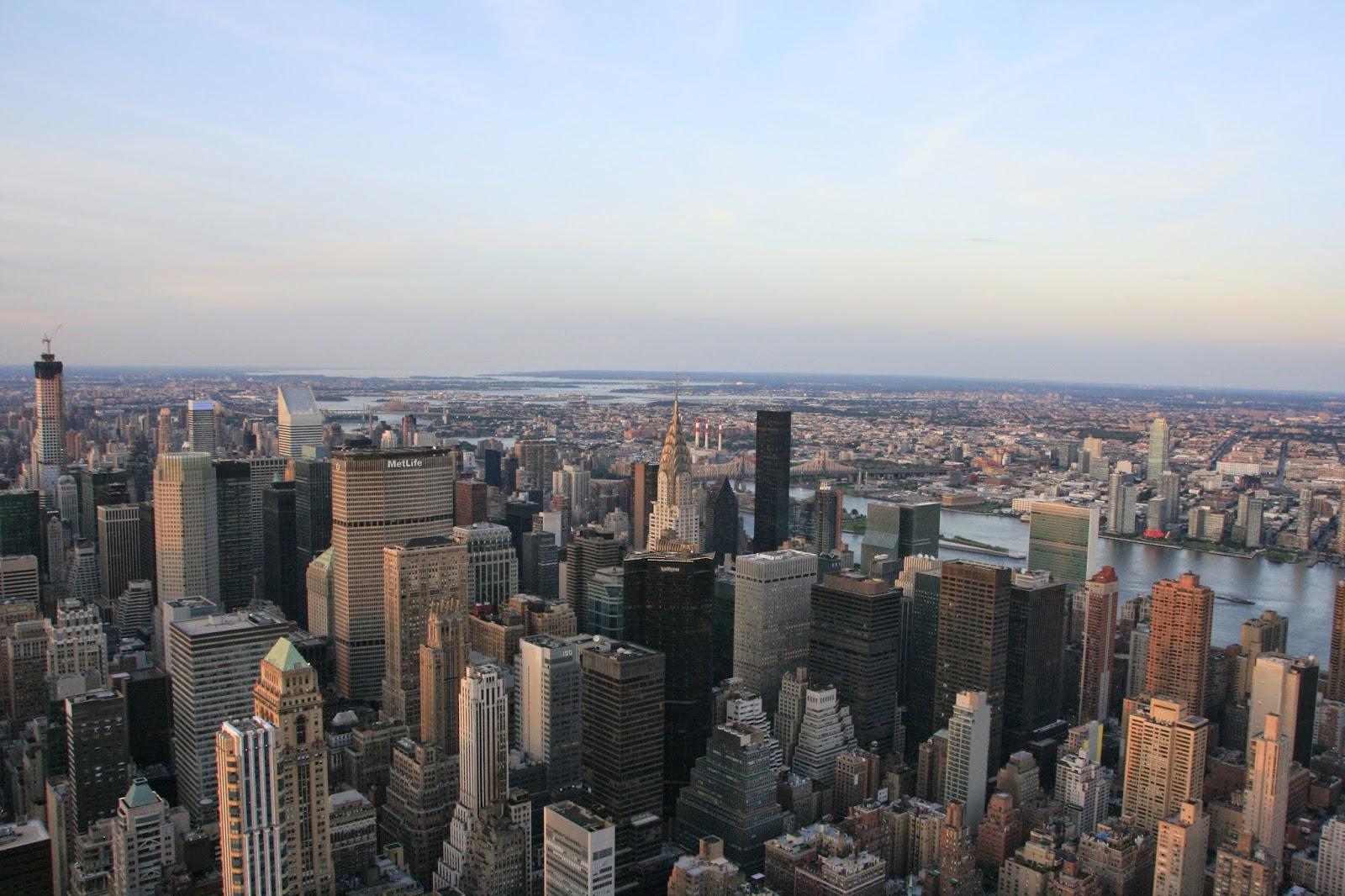 Vista panoràmica de la ciutat de Nova York