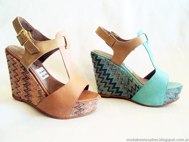 Sandalias de moda 2015 primavera verano 2015 Avance Collection.