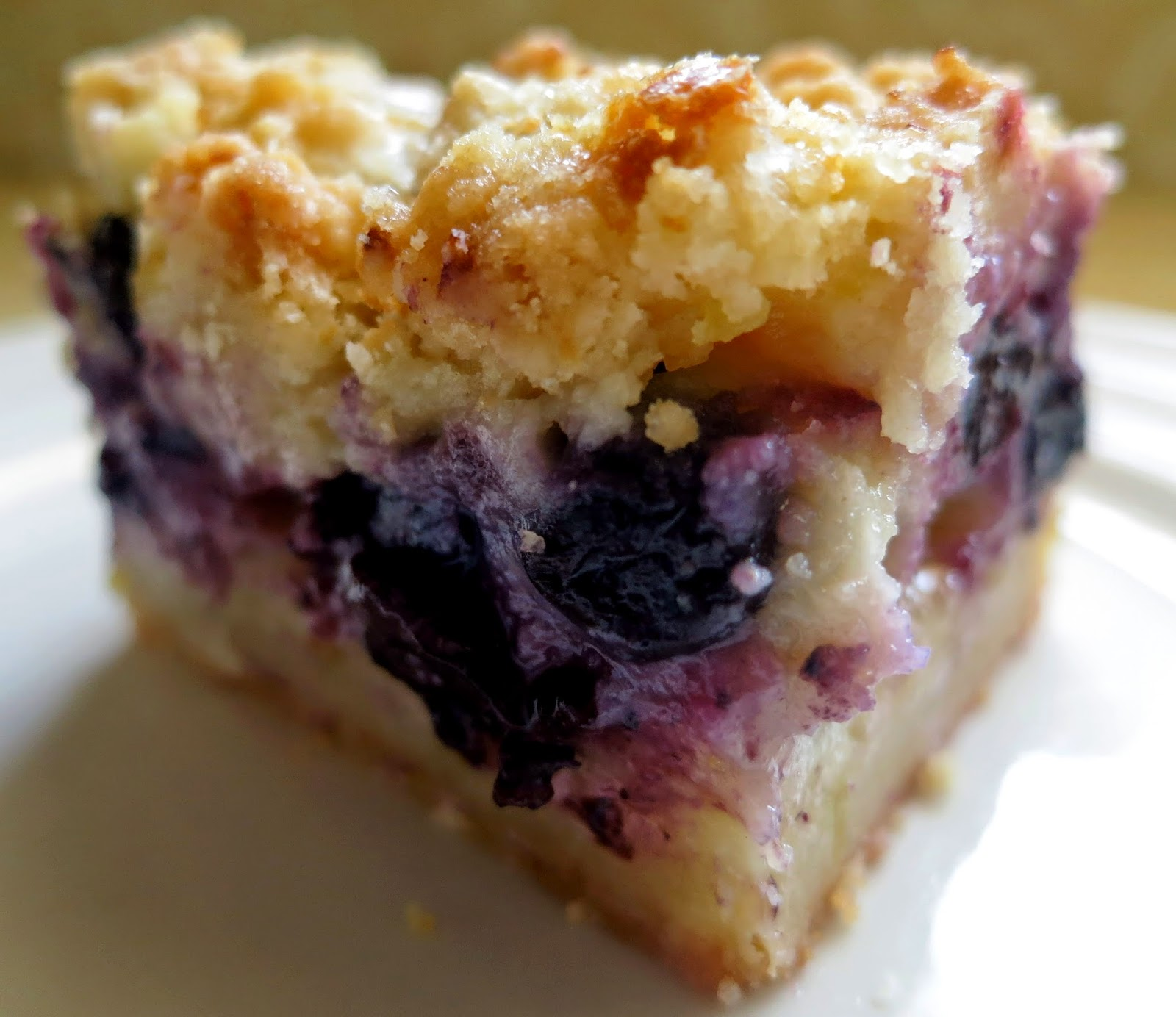 Jewish blueberry lemon bars - Cook and Post