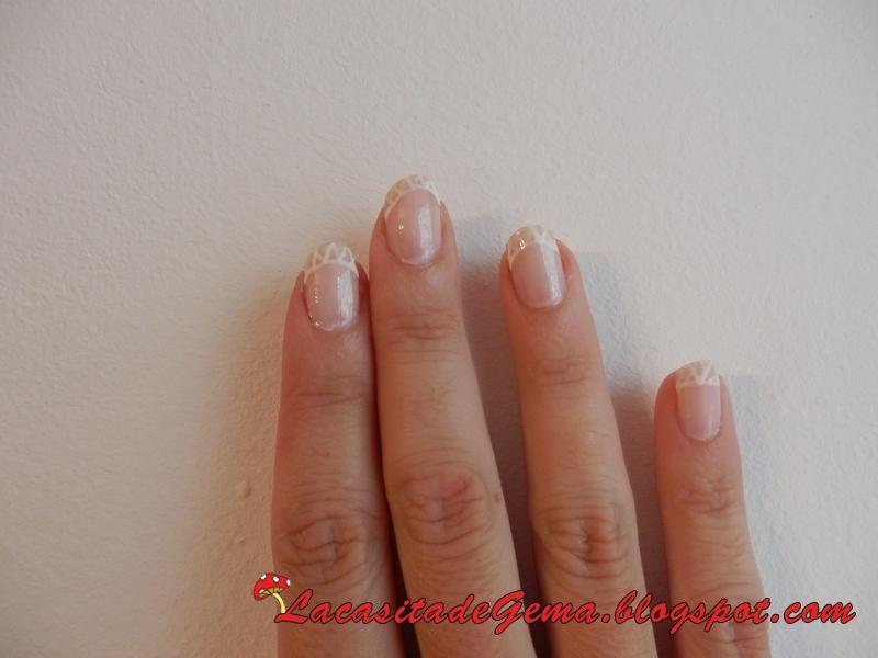 La casita de gema tutorial u as decoradas nail art n 48 for Entradas francesas faciles