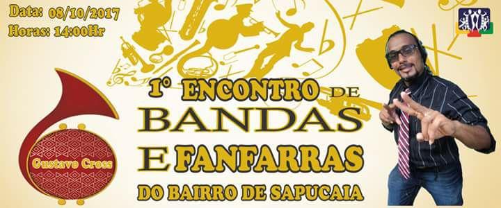 1ª Encontro de Bandas e Fanfarras do Bairro de Sapucaia em Timbaúba. Dia: 08/10