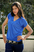 Sneha Tagore Photo shoot in Blue-thumbnail-6