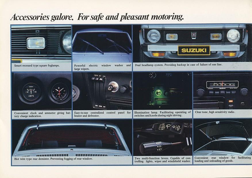 mało znane klasyki, japońska motoryzacja, zdjęcia, opis suzuki sc100, informacje, dane techniczne