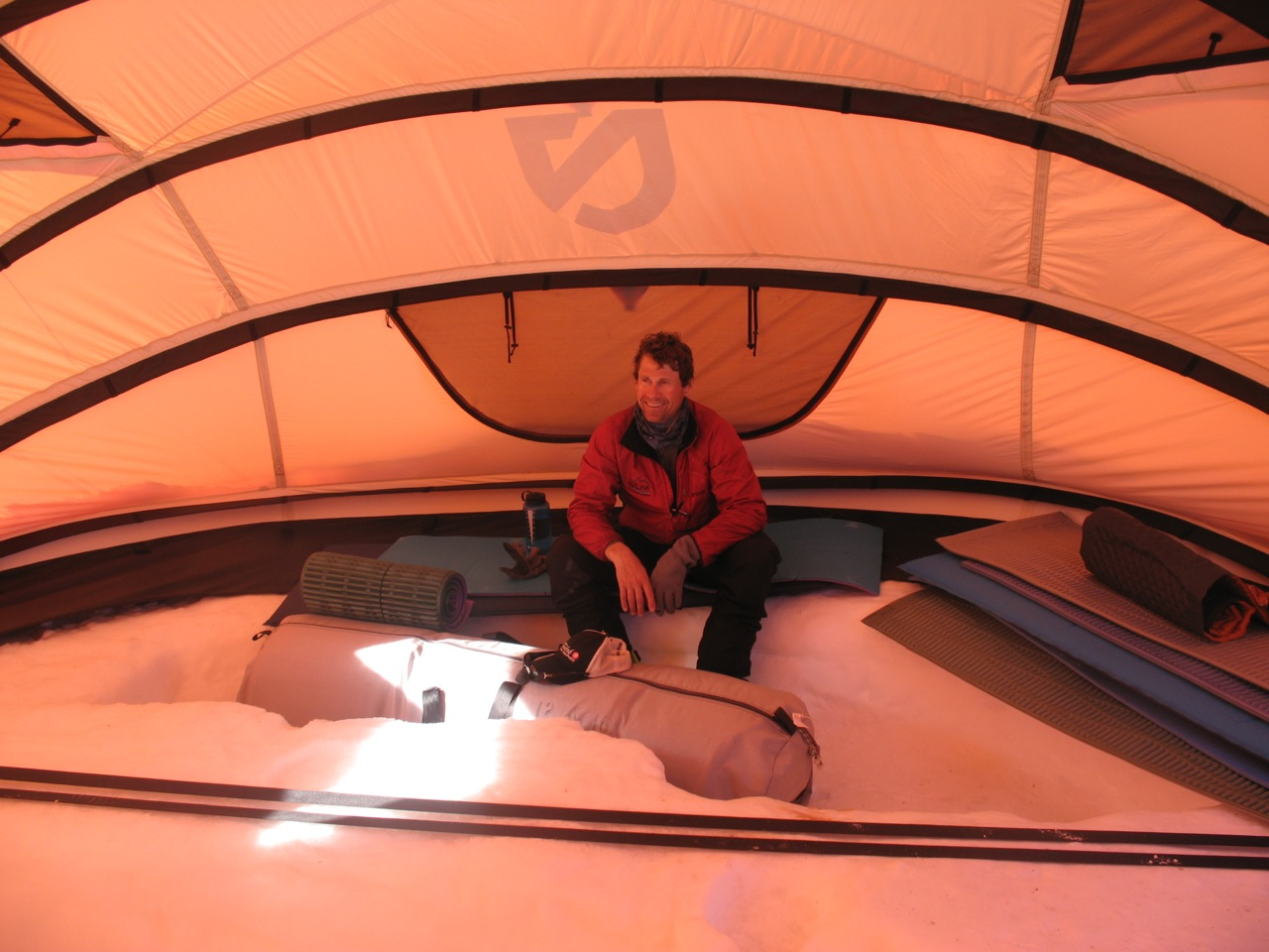 The tent has been up for 3 rotations on Vinsonu2014about 3-4 weeks in total seeing a fair amount of use. Want to know a little nugget of information? & Albedo and More: Designing for Intense UV   NEMO Equipment Inc ...