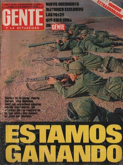 Publicaciones de viejos diarios y revistas la guerra de for Revistas del espectaculo argentino