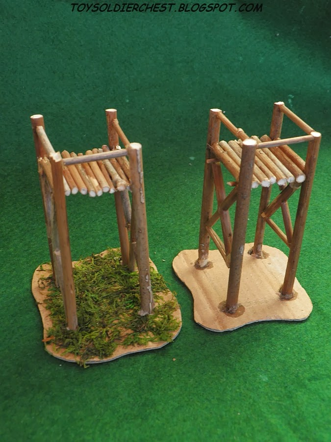 Toy Soldier Chest: HOW TO MAKE WATCHTOWER Tutorial 1:72 Wargaming ...