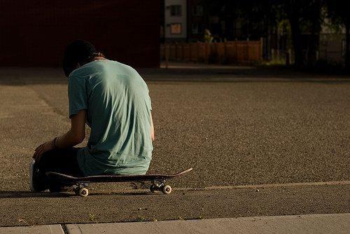 Alone Sitting