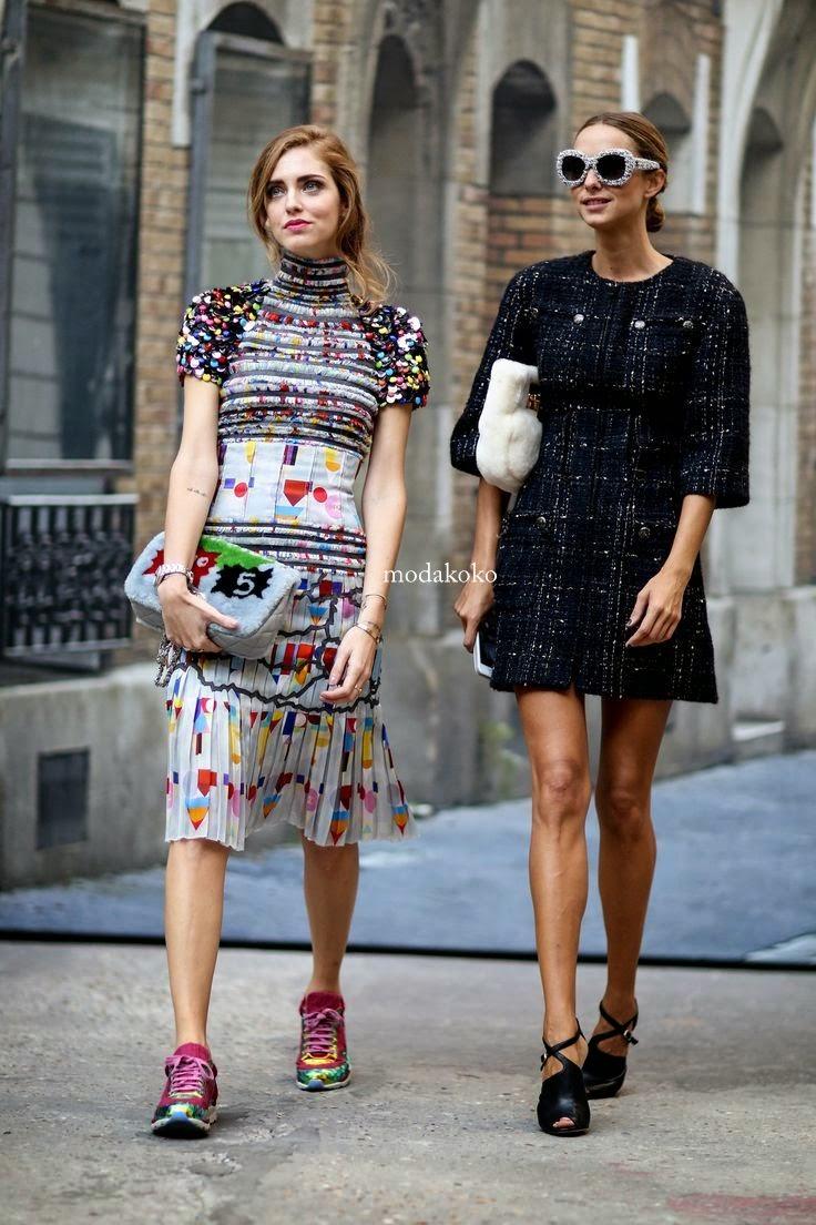 Paris Moda Haftası Sokak Stilleri 2014-2015