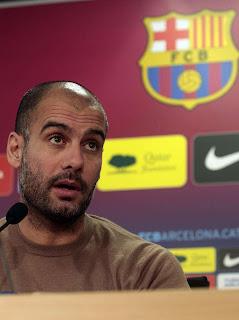 Guradiola sigue dudando en renovar con el Barcelona