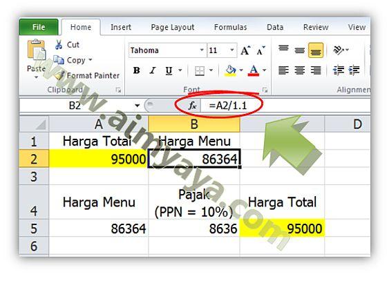 Gambar: Contoh menghitung angka spesial dan rechecking nilai tersebut