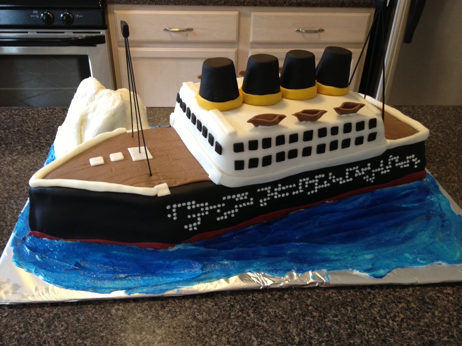 Asubtlerevelry Com Source Sugar And Spice Everything Iced Titanic Easy Birthday Cake Ideas Buyviagranow