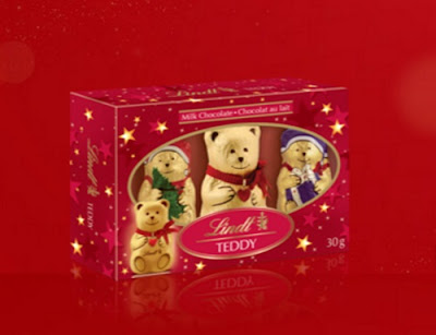 12 Days of Christmas Giveaways Day 12 - Lindt Chocolate Teddy Bears Set