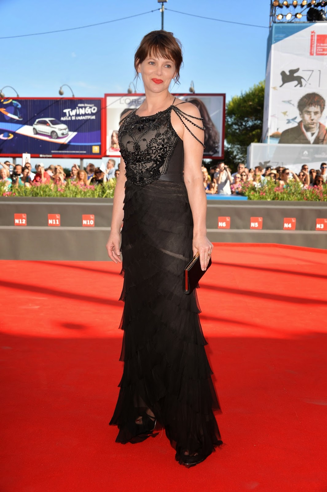 Barbora Bobulova on Red Carpet