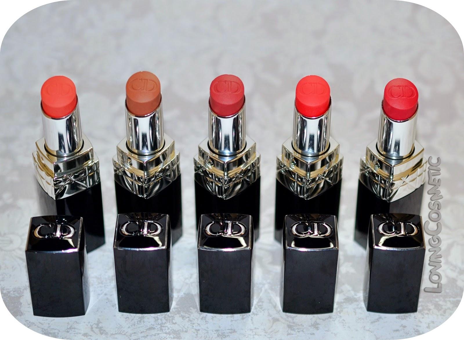 Kingdom of colors dior coleccion primavera 2015 rouge baume