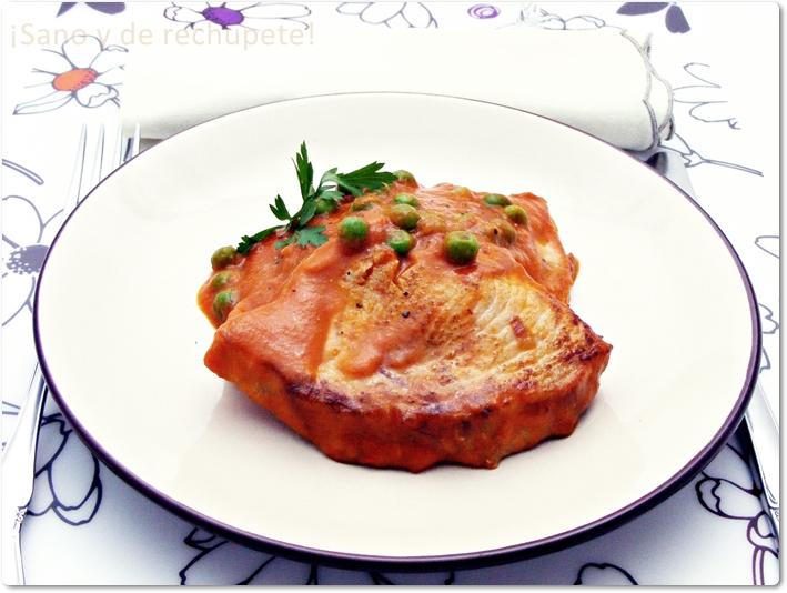 Sano y de rechupete pez espada en salsa for Pez espada en salsa de almendras