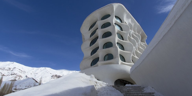 Ski resort. Tehran, Iran. Designed PYRA design studio in 2008