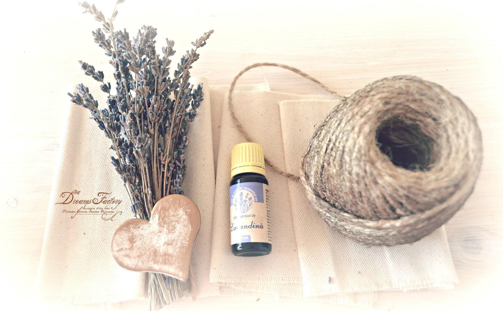Lavender essential oils potpourri ♦ Potpourri cu uleiuri esentiale de lavanda