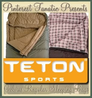 Teton Sports, Celsius, Sleeping Bag, Camping, Gear, Sleepover