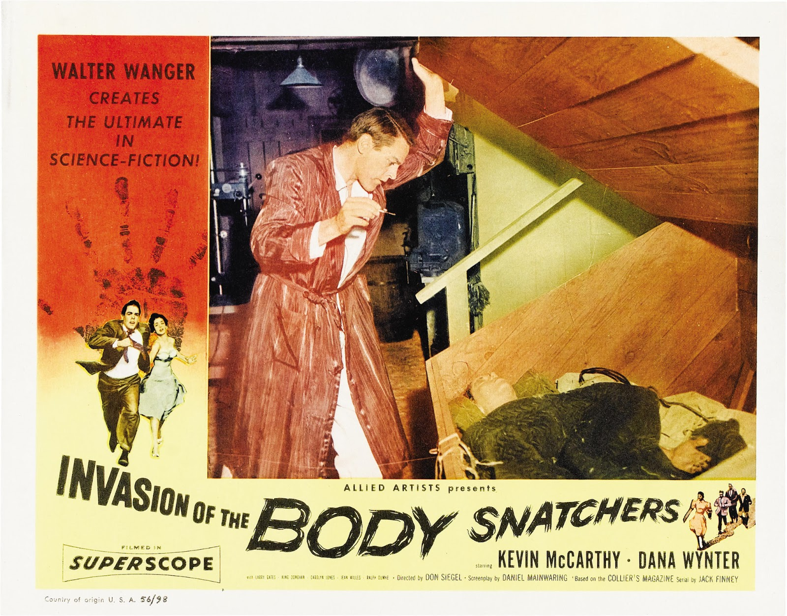 a review of the 1956 film invasion of the body snatchers Read the empire review of invasion of the body snatchers find out everything you need to know about the film from the world's biggest movie destination.