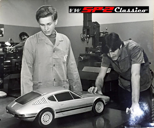 Maquete do Volkswagen SP2