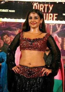 Vidya Balan navel