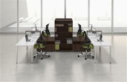 e5  Custo Office Cubicle Workstation by Mayline