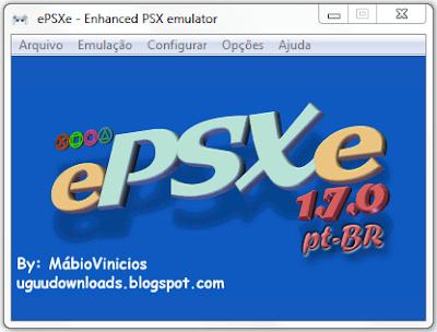 Emulador de PS1 Para PC ePSXe 1.7.0 Português-BR Capa