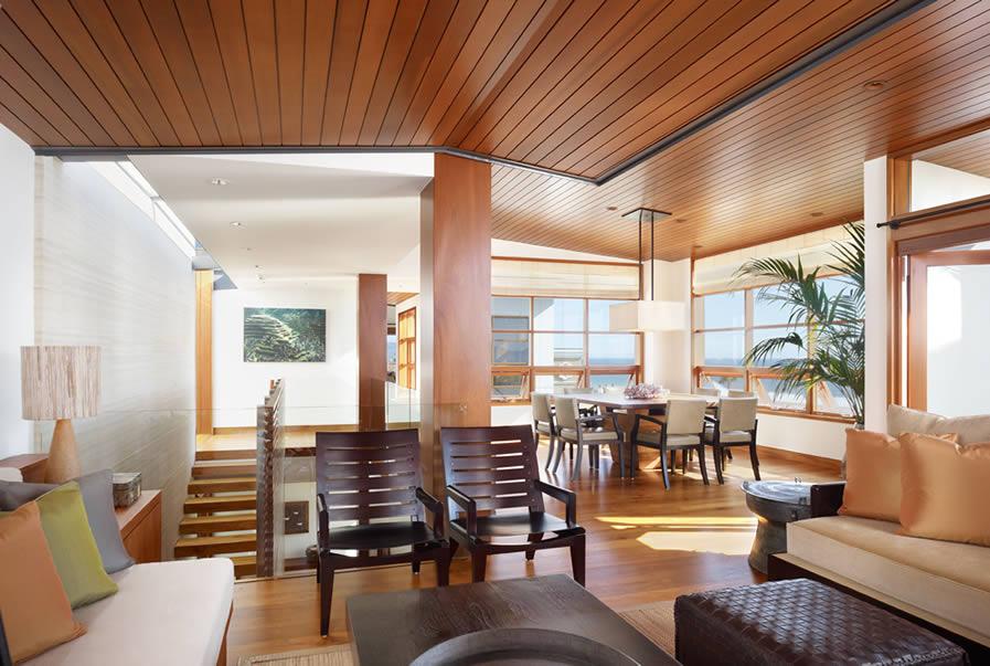 Wood and steel in interior design | Home Interior Design