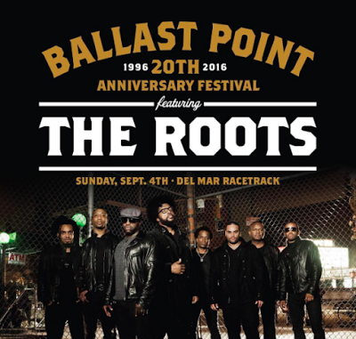 Enter to win tickets to Ballast Point's 20th Anniversary Festival - September 4