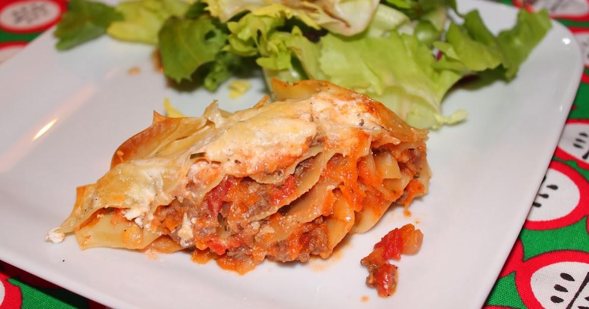 Recettes faciles rapides lasagnes au c leri et carottes - Lasagne facile et rapide ...
