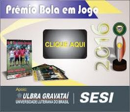 Premio Bola em Jogo 2016