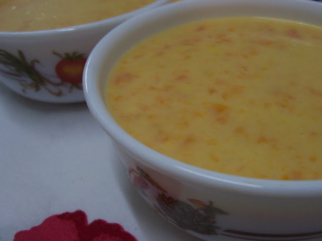 Kremalı Havuç Çorbası