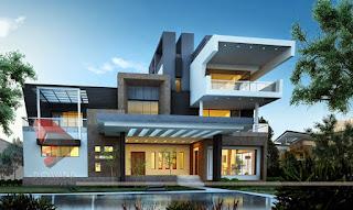 แบบบ้าน 3 ชั้น